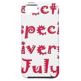 Expecting a special delivery in july iPhone SE/5/5s case