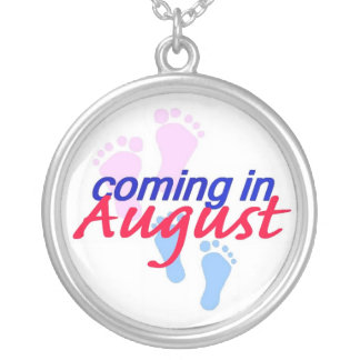 Expecting AUGUST Necklace