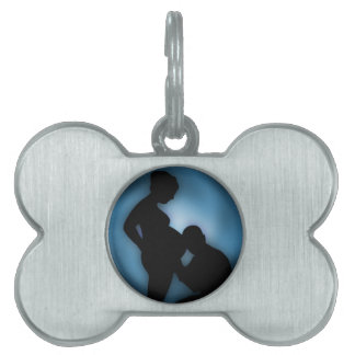 expecting baby pet ID tag