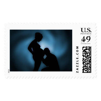 expecting baby postal stamps postage