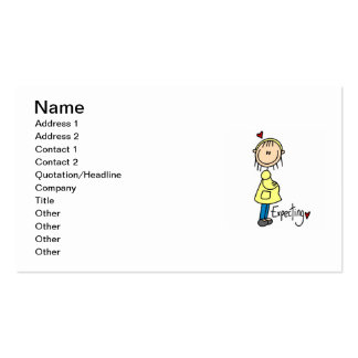 Expecting Baby T-shirts and Gifts Double-Sided Standard Business Cards (Pack Of 100)