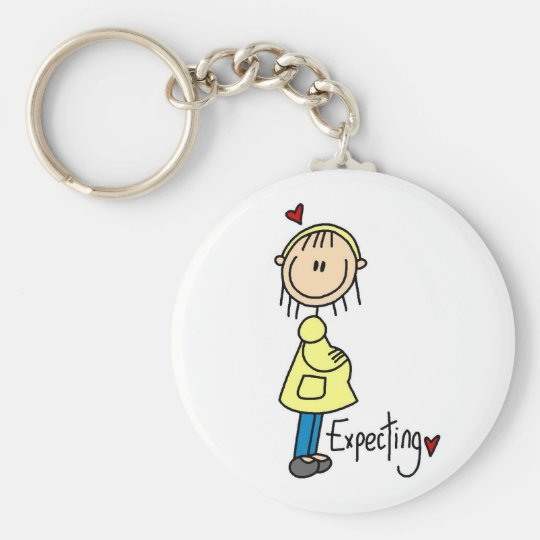 Expecting Baby T-shirts and Gifts Keychain