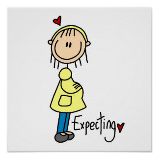 Expecting Baby T-shirts and Gifts Poster