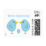 """""""Expecting Birds"""" Postage Stamps"""