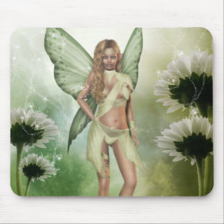 Expecting Fairy Mousepad by Emma Marlow
