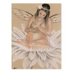 Expecting Fairy Postcard