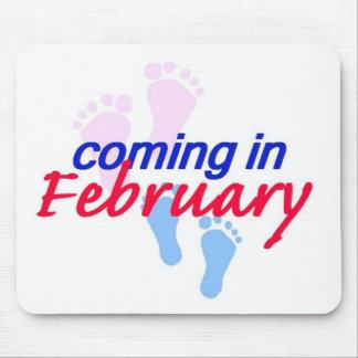 Expecting FEBRUARY Mousepad
