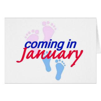 Expecting JANUARY Card