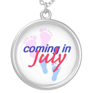 Expecting JULY Necklace
