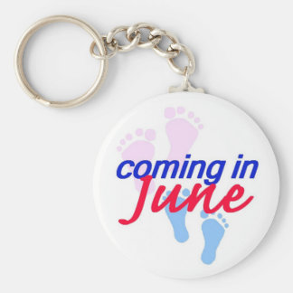 Expecting JUNE Keychain