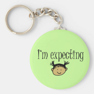 Expecting! Keychain