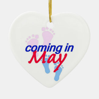 Expecting MAY Ornament