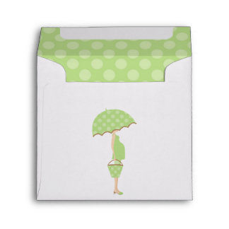 Expecting Mom Gender Neutral Baby Shower Envelope