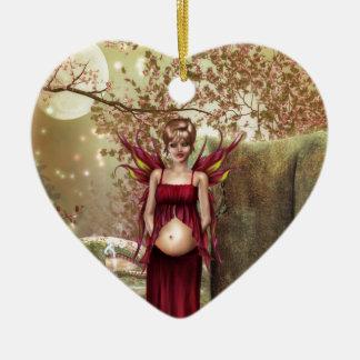 Expecting Motherhood Christmas Tree Ornament