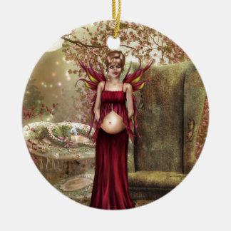 Expecting Motherhood Ornaments