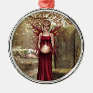 Expecting Motherhood Christmas Ornament