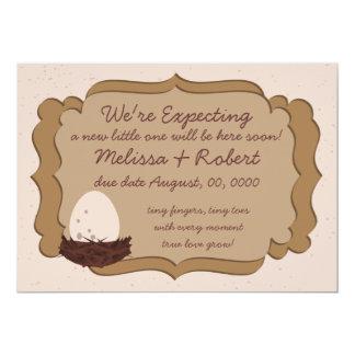 Expecting Nest & Egg Card