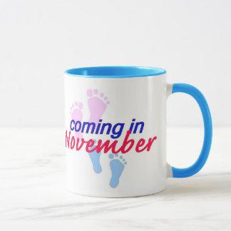 Expecting NOVEMBER Mug