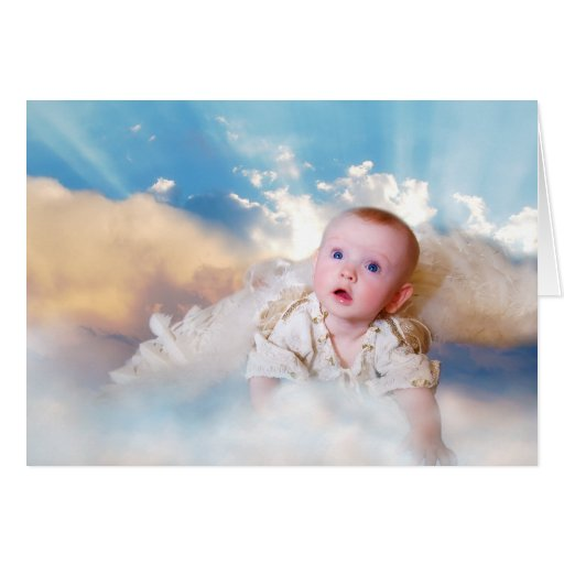 Expecting Parents New Angel Congratulations Card