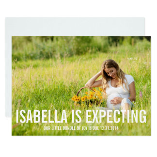 Expecting | Pregnancy Announcement