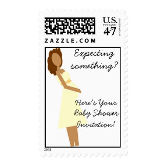 Expecting something? postage stamp