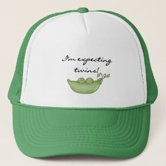 Expecting Twins - Peas in a Pod Trucker Hat