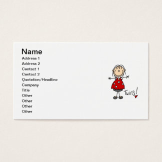 Expecting Twins T-shirts and Gifts Business Card