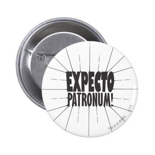 Expecto Patronum! Buttons