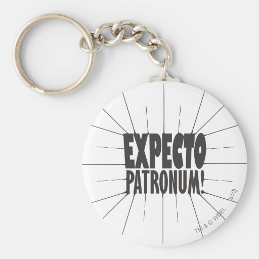 Expecto Patronum! Key Chain