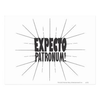 Expecto Patronum! Postcard