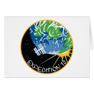 Expedición 19 tarjeta de felicitación