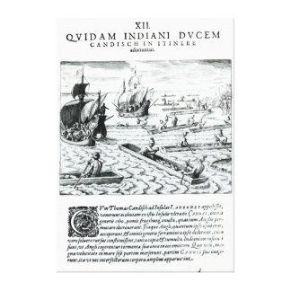 Expedición de Thomas Cavendish Impresion De Lienzo