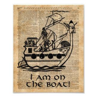 Expedición del barco, arte del diccionario de la fotografías