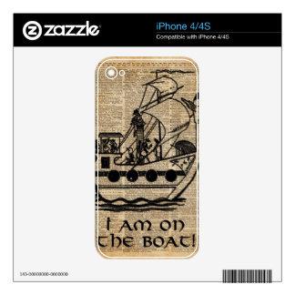 Expedición del barco, arte del diccionario de la iPhone 4S skins