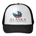 Expediciones de pesca de Alaska - gorra del camion