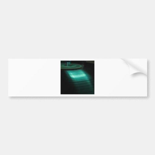 Expediente fresco abstracto del verde pegatina para auto