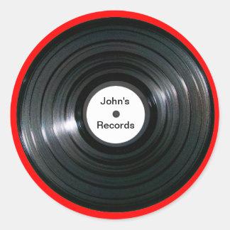 Expediente personalizado de LP de la etiqueta