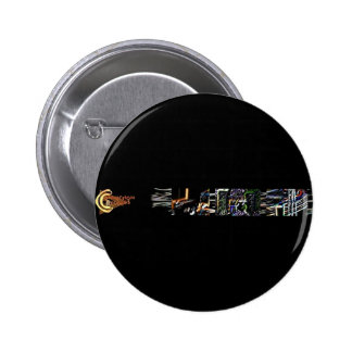 Expedientes de la conexión: Botón determinado de D Pin Redondo De 2 Pulgadas