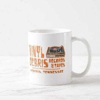Expedientes de la ruina del vinilo tazas de café