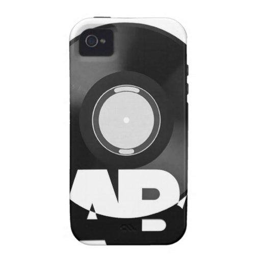 Expedientes de Uaba Vibe iPhone 4 Carcasa