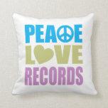 Expedientes del amor de la paz almohadas
