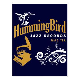 Expedientes del colibrí tarjetas postales