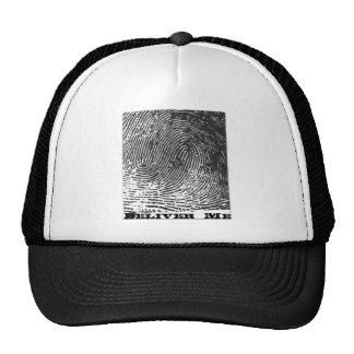 expedientes del deliverme - logotipo de la impresi gorras