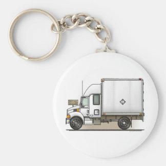 Expediter Truck Freight Hauler Keychain