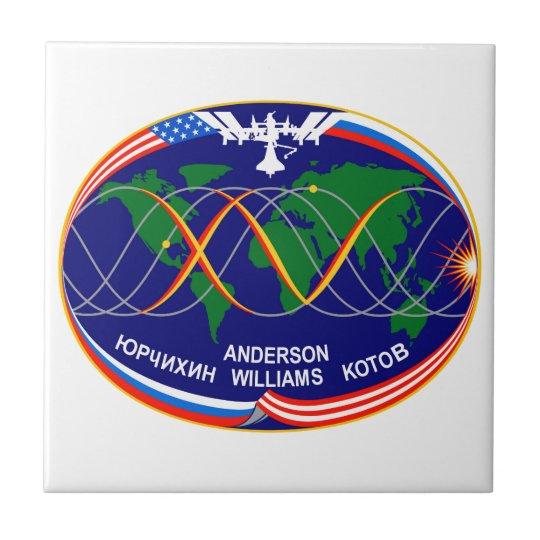 Expedition 15 Crew Patch Ceramic Tile