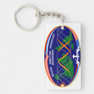 Expedition 15 Crew Patch Keychain