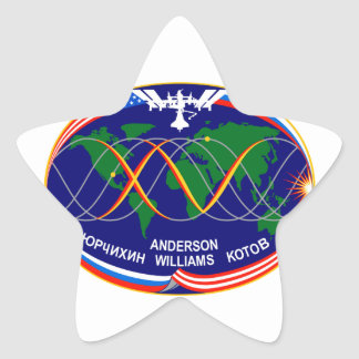 Expedition 15 Crew Patch Star Stickers