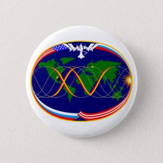 Expedition 15 Mission Patch Pinback Button