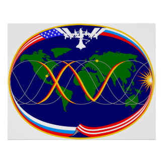 Expedition 15 Mission Patch Poster