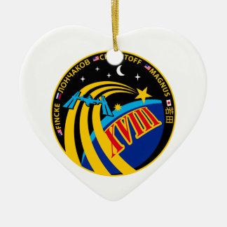 Expedition 18 ceramic ornament